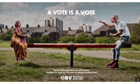 Operation Black Vote: Nigel Farage and Simon Woolley debate the controversial EU Referendum poster