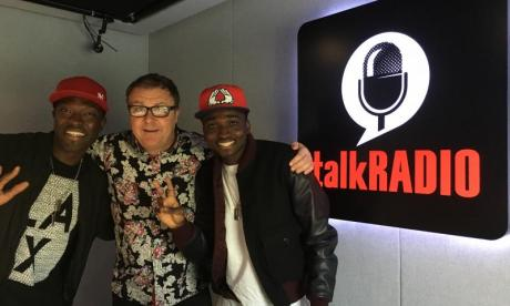 X Factor's Reggie N Bollie debut their new single live with Paul Ross