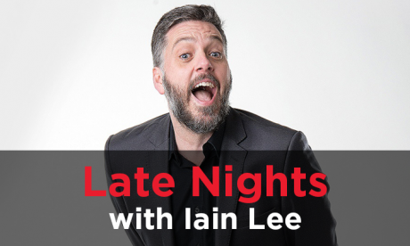 Late Nights with Iain Lee: Applause, Rain and Bullshine Boxes