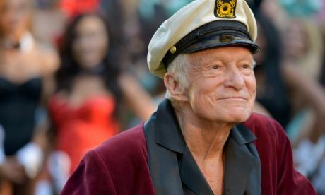 Never mind Trump, how about President Hugh Hefner? Peter Stringfellow advises Playboy founder on his next move