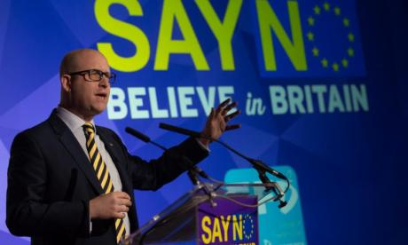 'Eventually we're going to replace the Labour Party', says deputy leader of UKIP Paul Nuttall