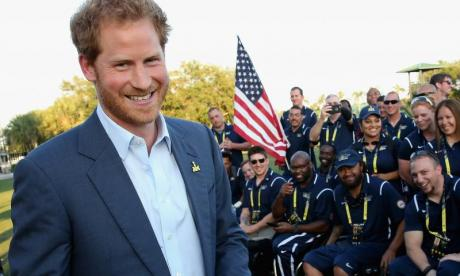 Prince Harry faces charges of minor war crimes after not wearing a tie while meeting D-Day war veterans at Southwick house