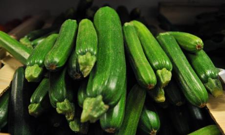 Courgettes in Canary Wharf! A new member joins the Lonely Lunch Club