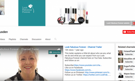 Look Fabulous Forever vlogger Tricia Cusden on her business and social media success