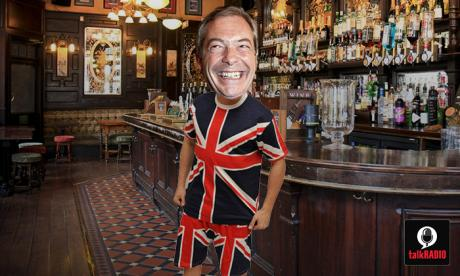 Nigel Farage reveals he only wears a t-shirt to bed, and nothing else