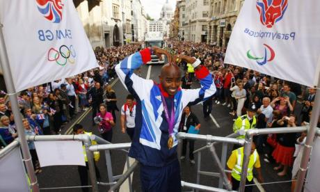 Calls for the Olympic victory parade to be held outside of London
