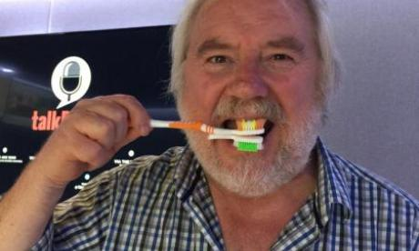 The Two Mikes look at the reaction to Mike Parry's amazing toothbrush invention