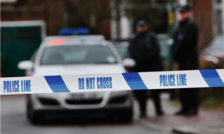 A car being chased by police has crashed leaving two people dead