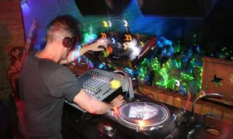 DJ Ariel seen playing at Fabric in 2012