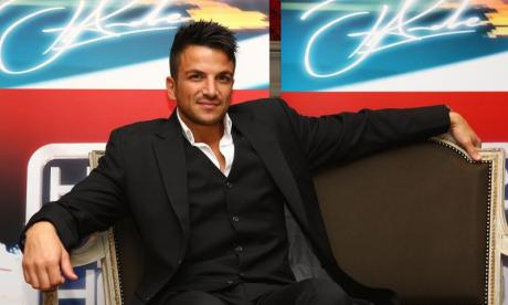 Peter Andre on Greece, 'Between Us' and getting the cane