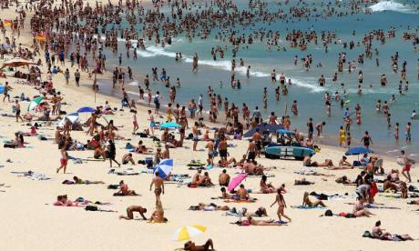 Australia's iconic beach is mentioned in a new article by Isis