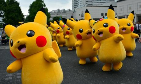 The Pokemon hunters were in the middle of a game when they stumbled on a rather unsettling find