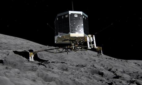 Philae lander found 'lying on its back with two of its legs stuck in the air so they can't communicate with it', says science journalist