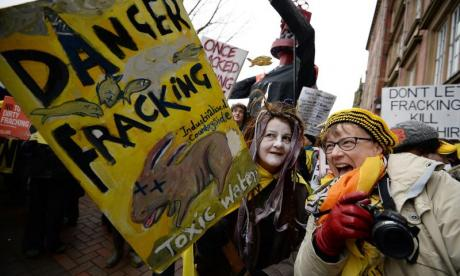 Fracking: 'We're on a pathway to a world in which there are no emissions going up that are then taken down', says shadow energy secretary