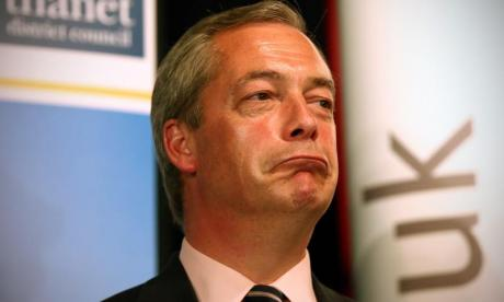 'EU chiefs are trying to protect their beloved project even as it crashes down around them', says Nigel Farage