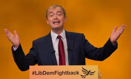 LISTEN: Lib Dem leader Tim Farron and Julia Hartley-Brewer clash over the EU