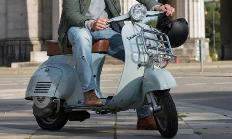 Two men arrested after a man dies trying to stop a moped theft