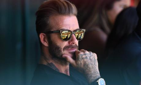 Can you bend it like Beckham at 44,000 feet? Star does 22 Push-Up Challenge on airplane