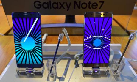 Samsung investigating the Galaxy Note 7 after it explodes when charging