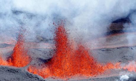 French volcano erupts for the second time this year