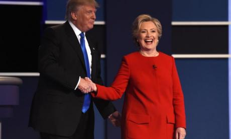 'Trump looked a little less orange last night' - Twitter's funniest reactions to the US presidential debate