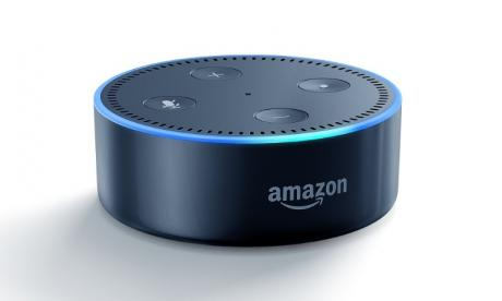Amazon's new Echo Dot (supplied)