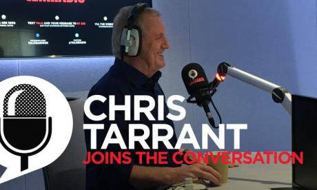 Chris Tarrant on his show Ice Train To Nowhere, Extreme Railways, and his stroke on a 14-hour flight from Thailand