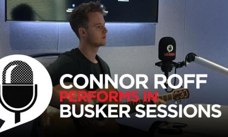 Connor Roff wows in live busker session with Jon Holmes