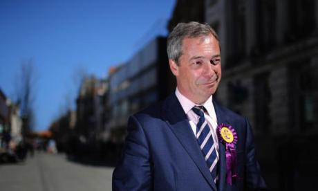 Nigel Farage to serve as interim UKIP leader