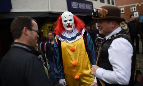 The scary clown trend isn't fun for everyone, warns Childline