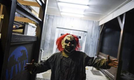 Clownpocalypse - Armed police hunting machete-armed clown who threatened two Suffolk girls