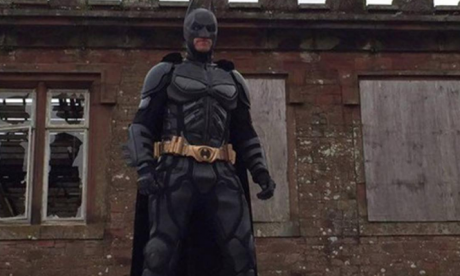 The Batman of Cumbria - man vows to chase down killer clowns scaring children