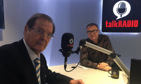 Sir Roger Moore on James Bond, tour, and other career highlights