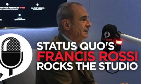 Francis Rossi from Status Quo talks to James Whale about his upcoming album