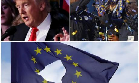 Trump, Brexit and Leicester - the crazy things that have happened in 2016