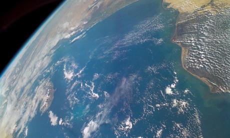Scientists detect a crack in the earth's magnetic shield