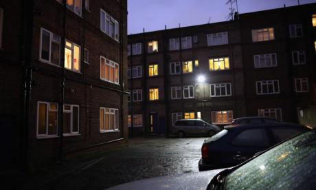 Two-year-old in serious condition after falling from a block of flats