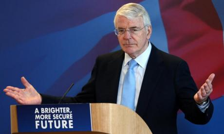 Sir John Major delivers Brexit warning against 'tyranny of the majority'