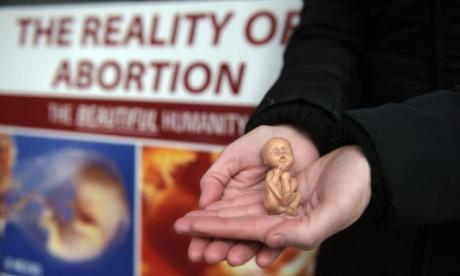 LISTEN: Anti-abortion campaigner clashes with woman who had an abortion
