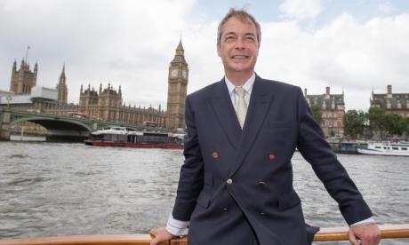 Nigel Farage 'flattered' by Donald Trump ambassador Twitter endorsement