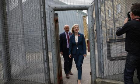 Justice Secretary Liz Truss admits violence in prisons has reached unacceptable levels