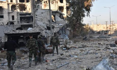 80,000 residents freed as Syrian government forces clear militants from half of eastern Aleppo, says Russian defence ministry
