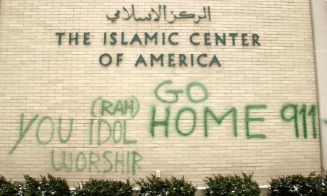 California mosques receive threatening messages after Donald Trump's election victory