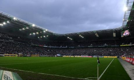 Celtic fan in hospital after falling from top tier at Borussia Park stadium