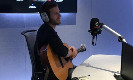 Jem Tyler performs in Busker Sessions with Jon Holmes