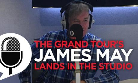 Paul Ross AND Jon Holmes interview James May about The Grand Tour