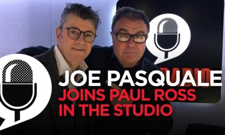 Joe Pasquale on his new panto and I'm A Celeb 2016