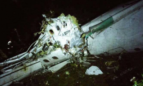 Plane carrying top Brazilian football team crashes in Colombia