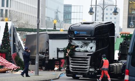 Berlin truck attack: Far-right leader roars 'the horror has arrived' and attacks Merkel
