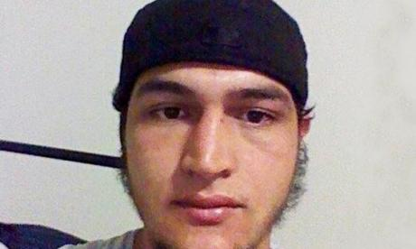 Anis Amri is suspected of killing 12 people at a Christmas market in Berlin